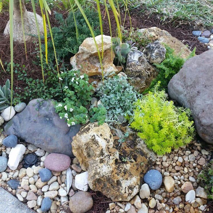 Diy Concrete Garden Rocks