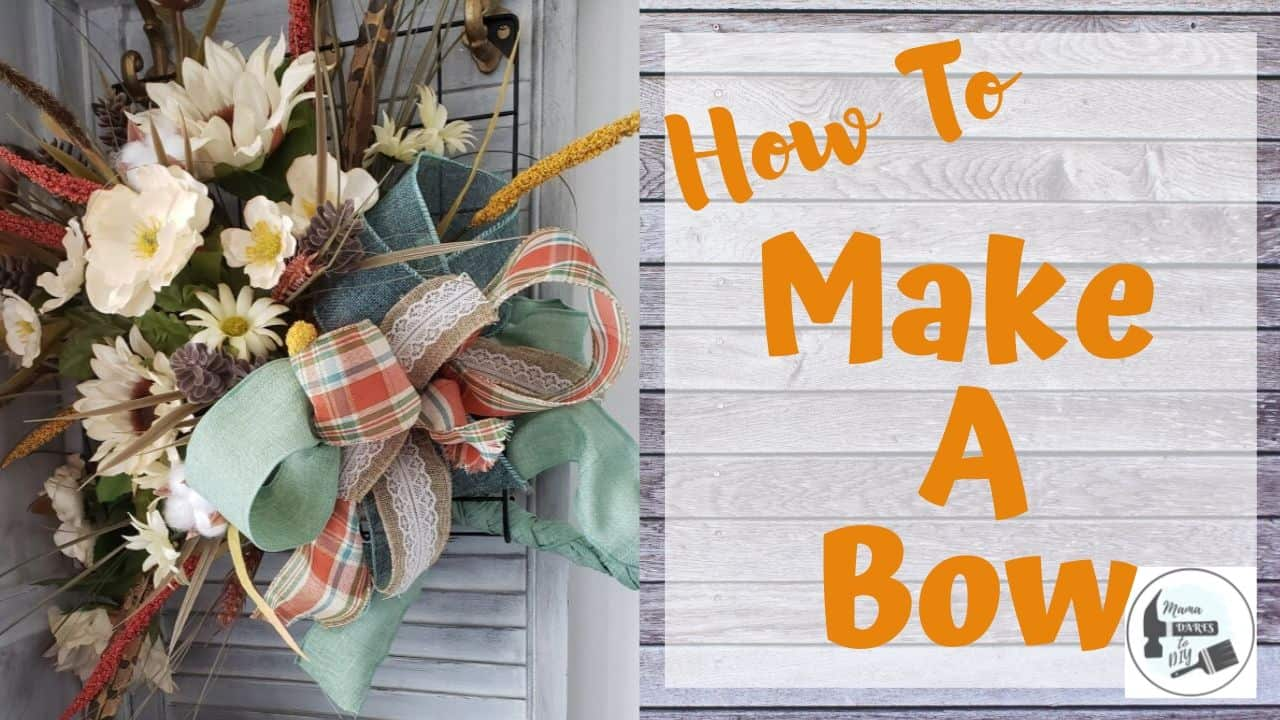 How To Make A Multi Ribbon Bow